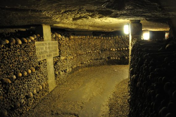 Visite guidée des catacombes de Paris
