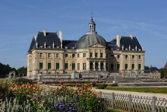 Visite guidée du château de Vaux-le-Vicomte, proche de Paris, chef d'œuvre du XVIIe siecle