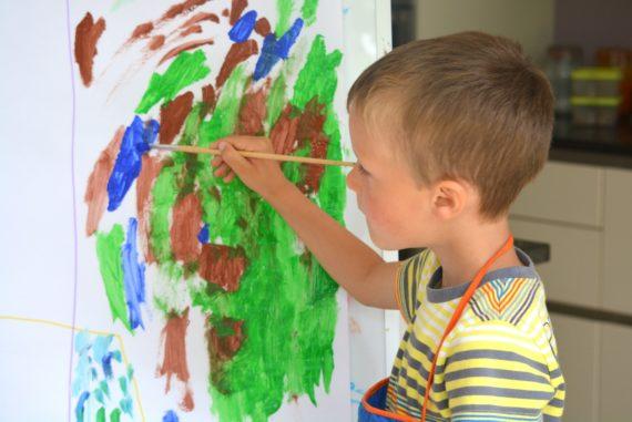 Atelier peinture pour enfant au musée d'Orsay à Paris