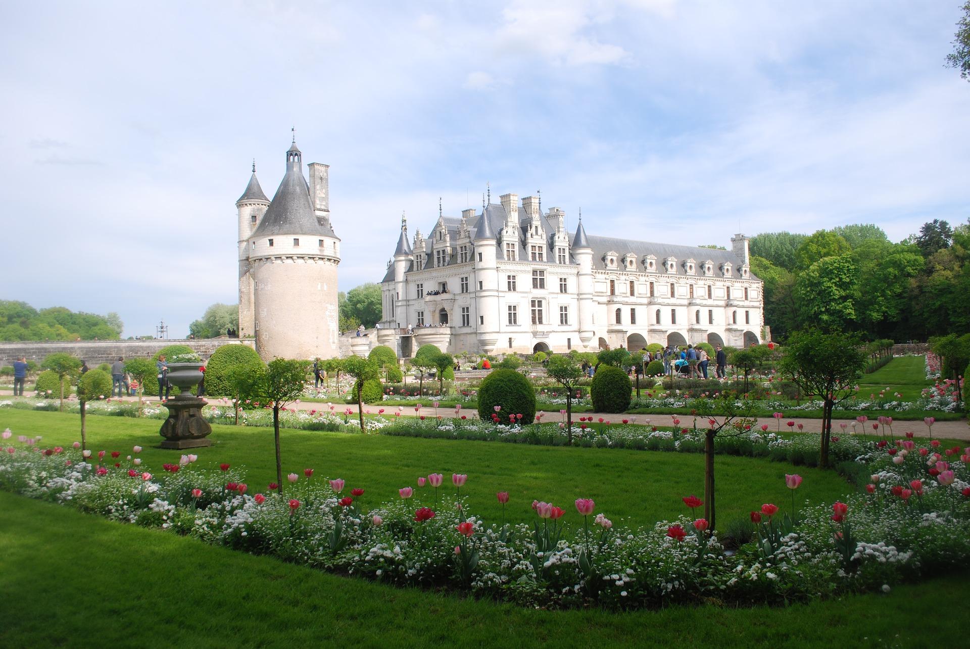 Visite guidée du château de Chenonceau par un guide touristique de l'agence de guides conférenciers Guides Tourisme Services